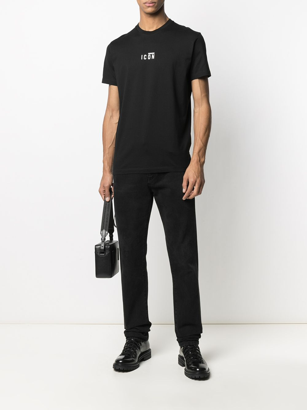 DSQUARED2 Small Icon Logo T-shirt Black