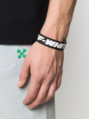 OFF-WHITE industrial rubber wristband - Maison De Fashion