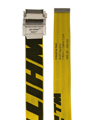 Off-White yellow 2.0 industrial belt - Maison De Fashion