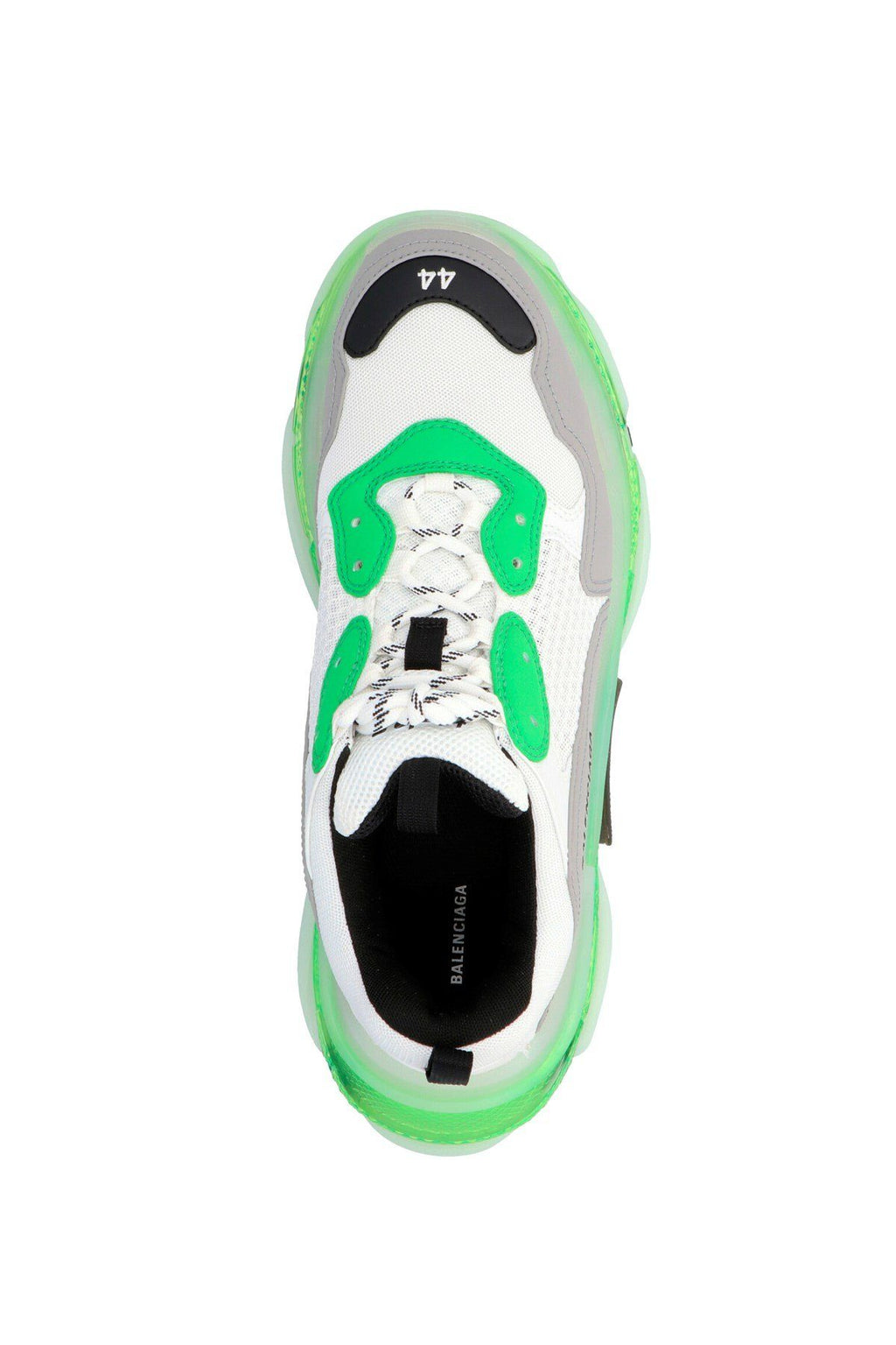 BALENCIAGA Triple S Clearsole Sneaker White/Green