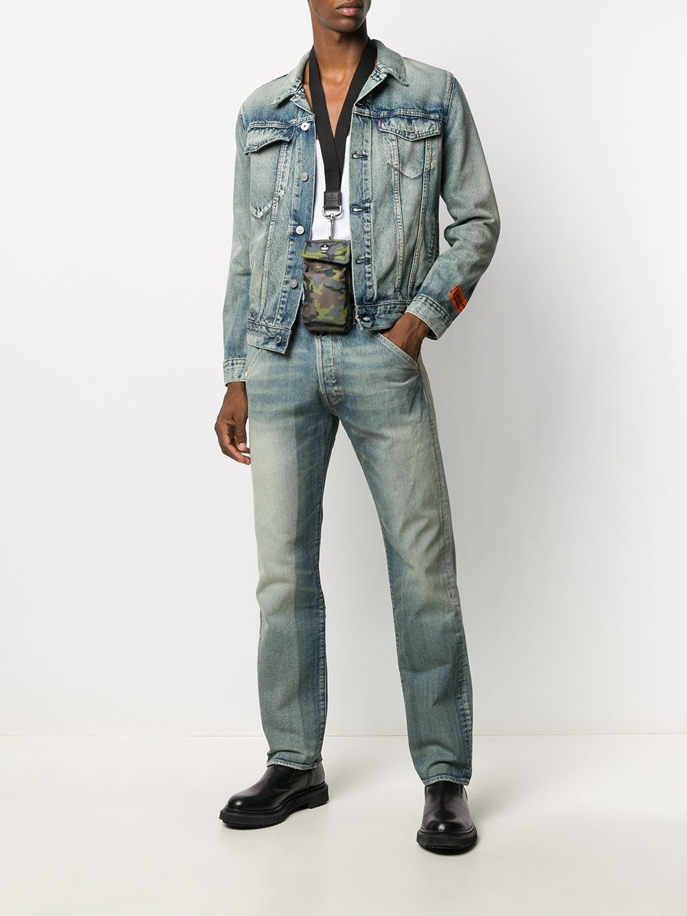HERON PRESTON Levi's Trucker Jacket - Maison De Fashion