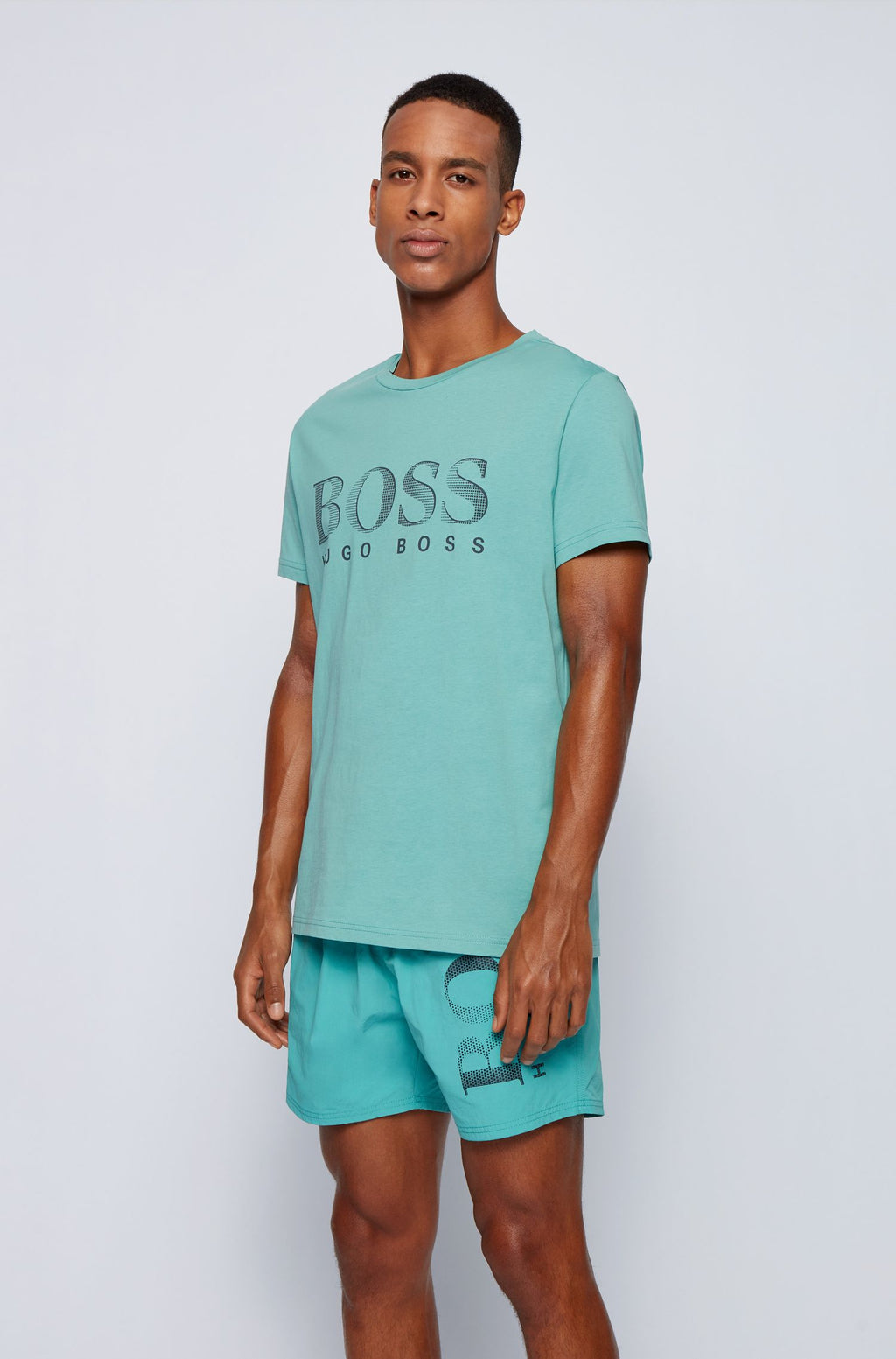 BOSS Logo T-Shirt Green