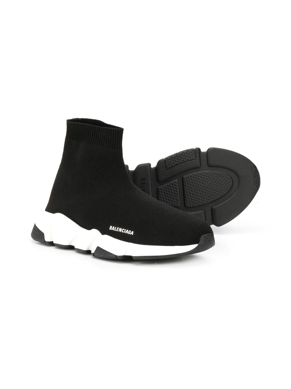 Balenciaga kids speed runner black - Maison De Fashion