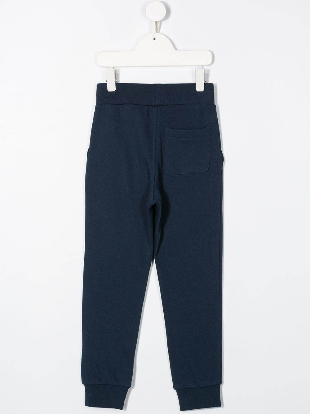LANVIN ENFANT embroidered logo track trousers