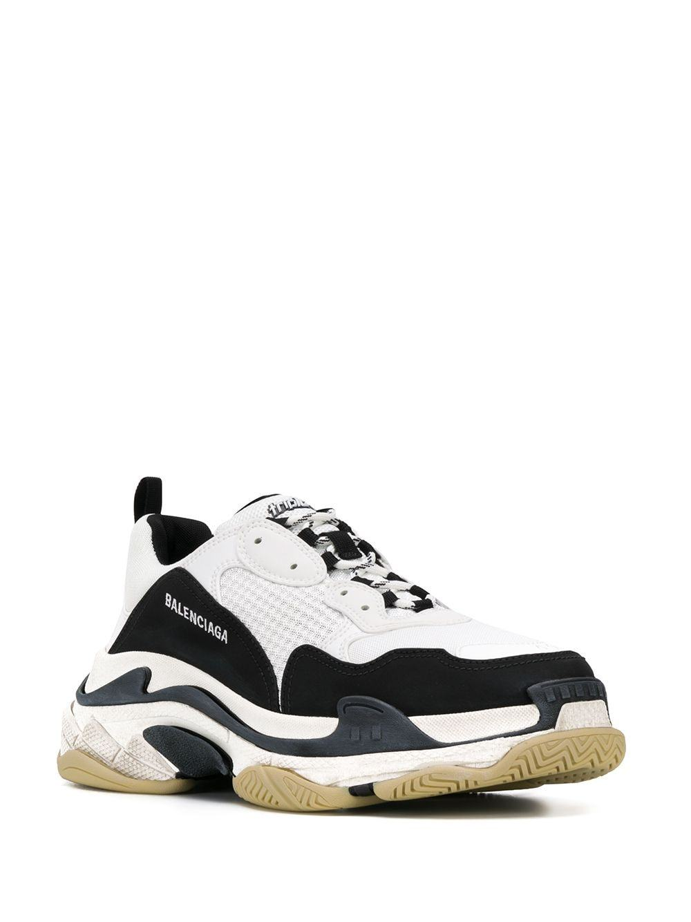 BALENCIAGA double foam triple s sneakers