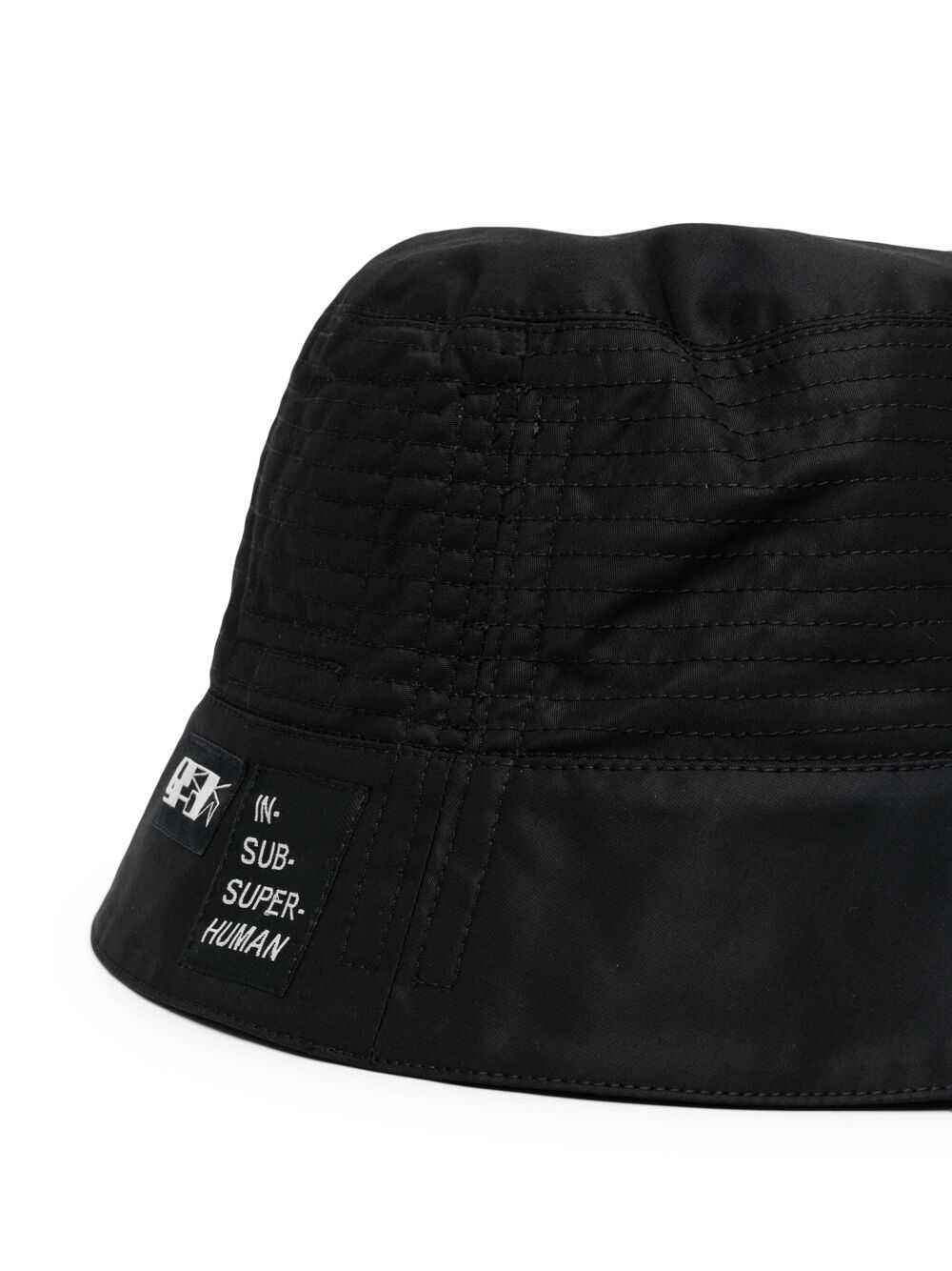 Rick Owens DRKSHDW Patch Detail Bucket Hat