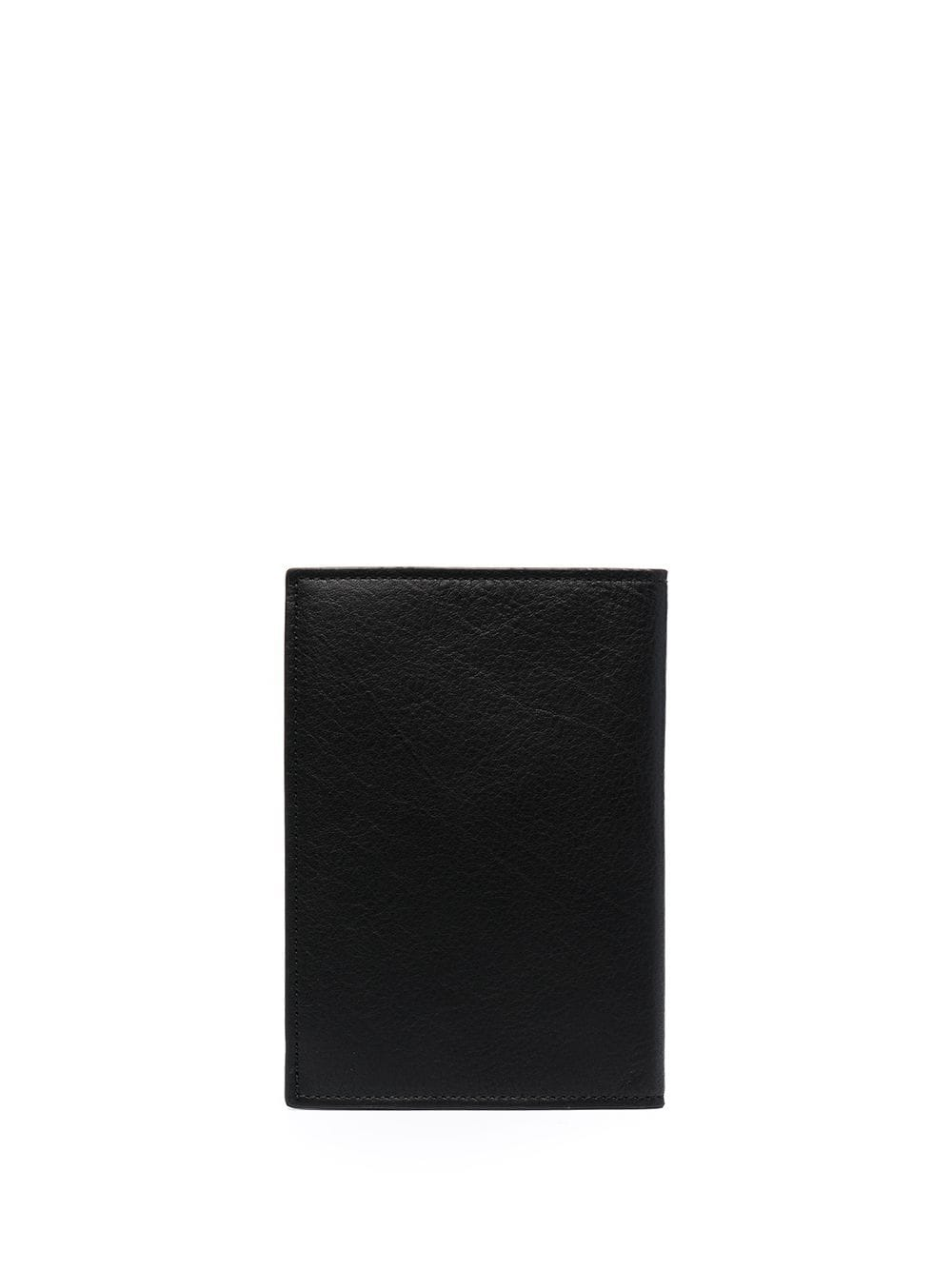 DSQUARED2 Icon Logo Print Passport Holder Black