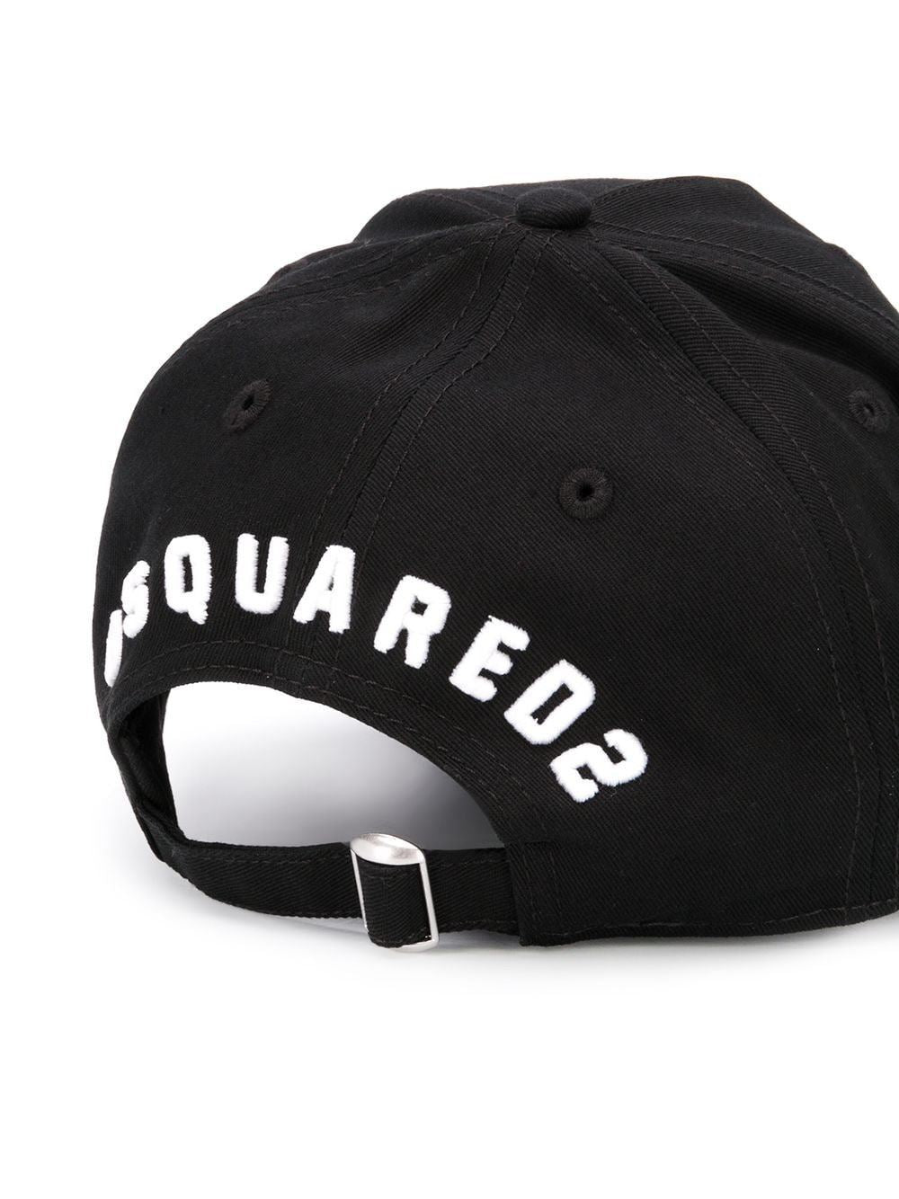 Dsquared2 icon logo cap black - Maison De Fashion