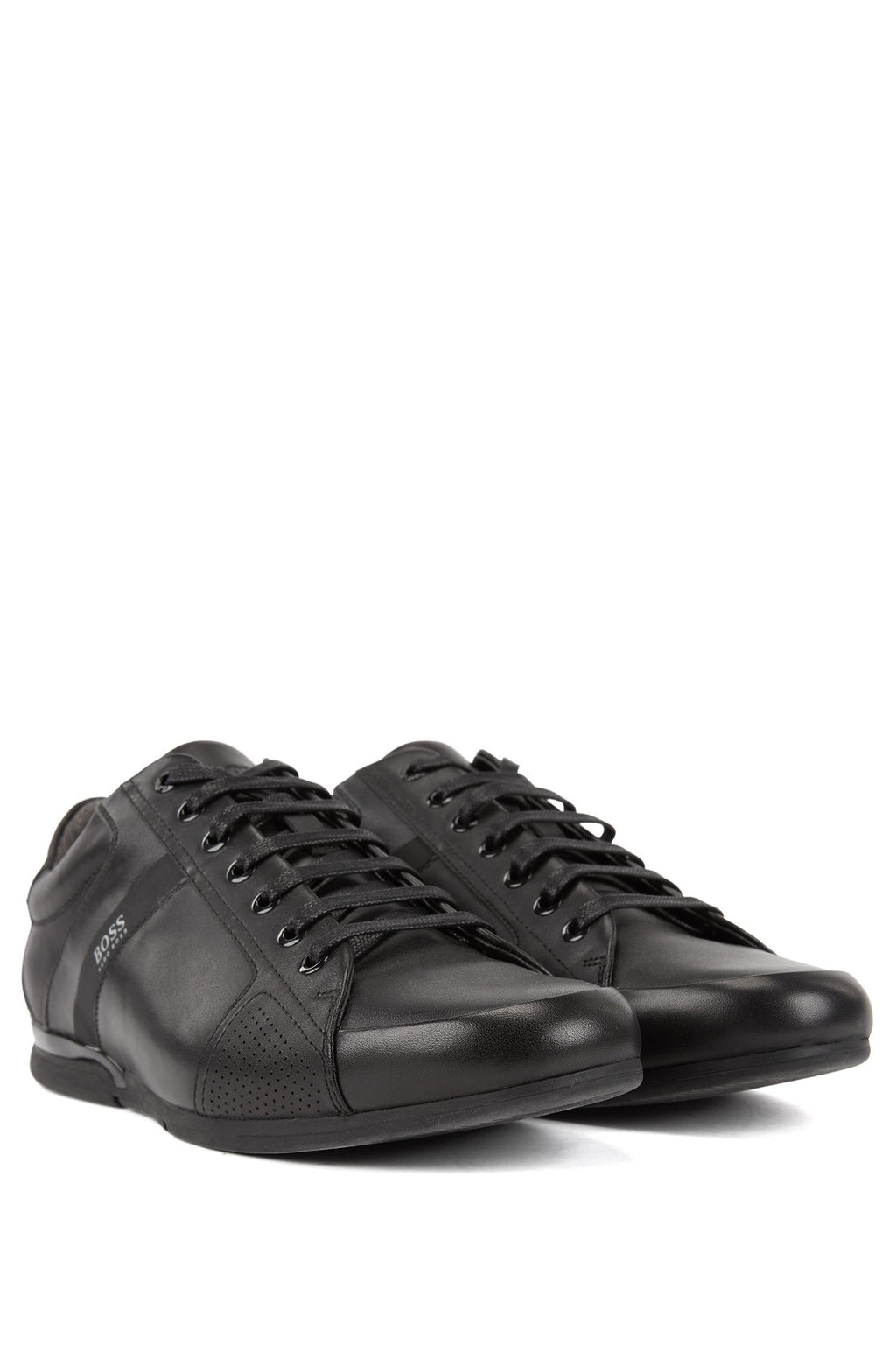 Boss Low-profile trainers with smooth leather uppers | Hugo Boss
