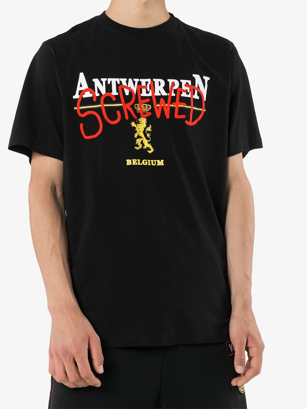 VETEMENTS Antwerp T-Shirt Black - Maison De Fashion