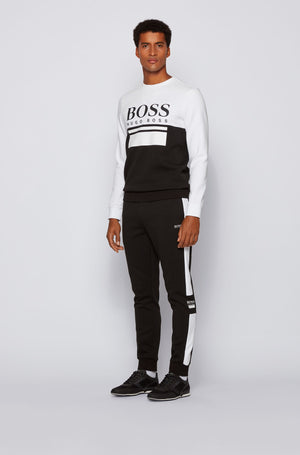Boss Saturn Low Sneakers Black - Maison De Fashion