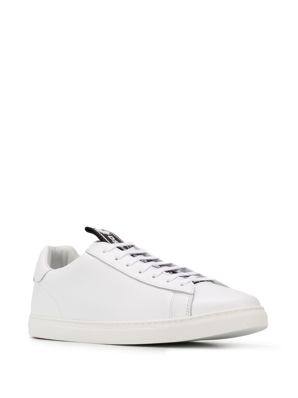 DSQUARED2 Evolution Tape Sneakers White/Black