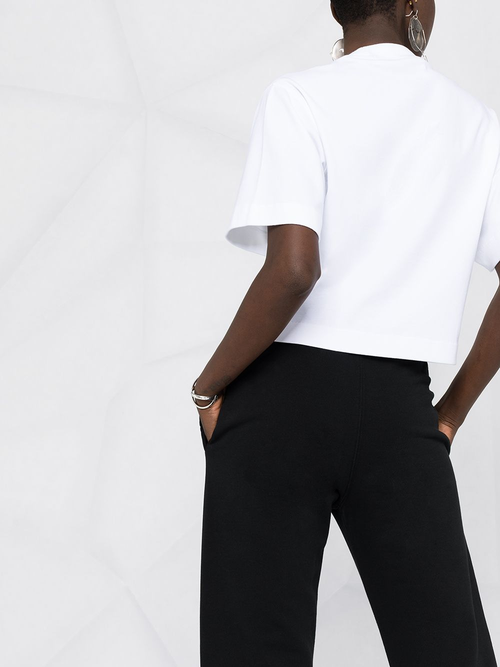 OFF-WHITE WOMEN Logo Track Pants Black