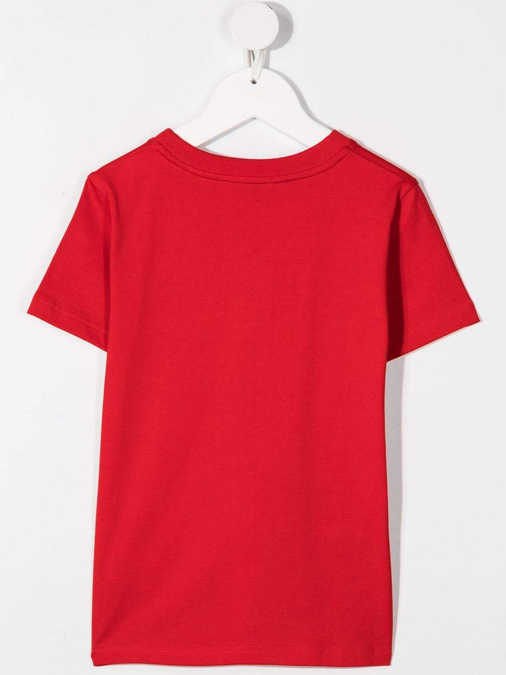 GIVENCHY KIDS Graphic logo print T-shirt Red