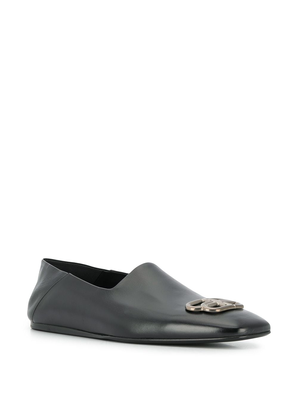 BALENCIAGA Cosy BB Loafers Black - Maison De Fashion