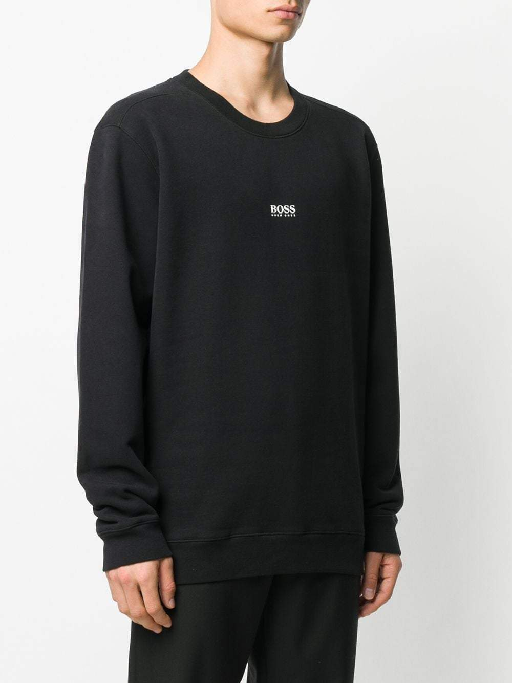 BOSS Small Logo Sweatshirt Black