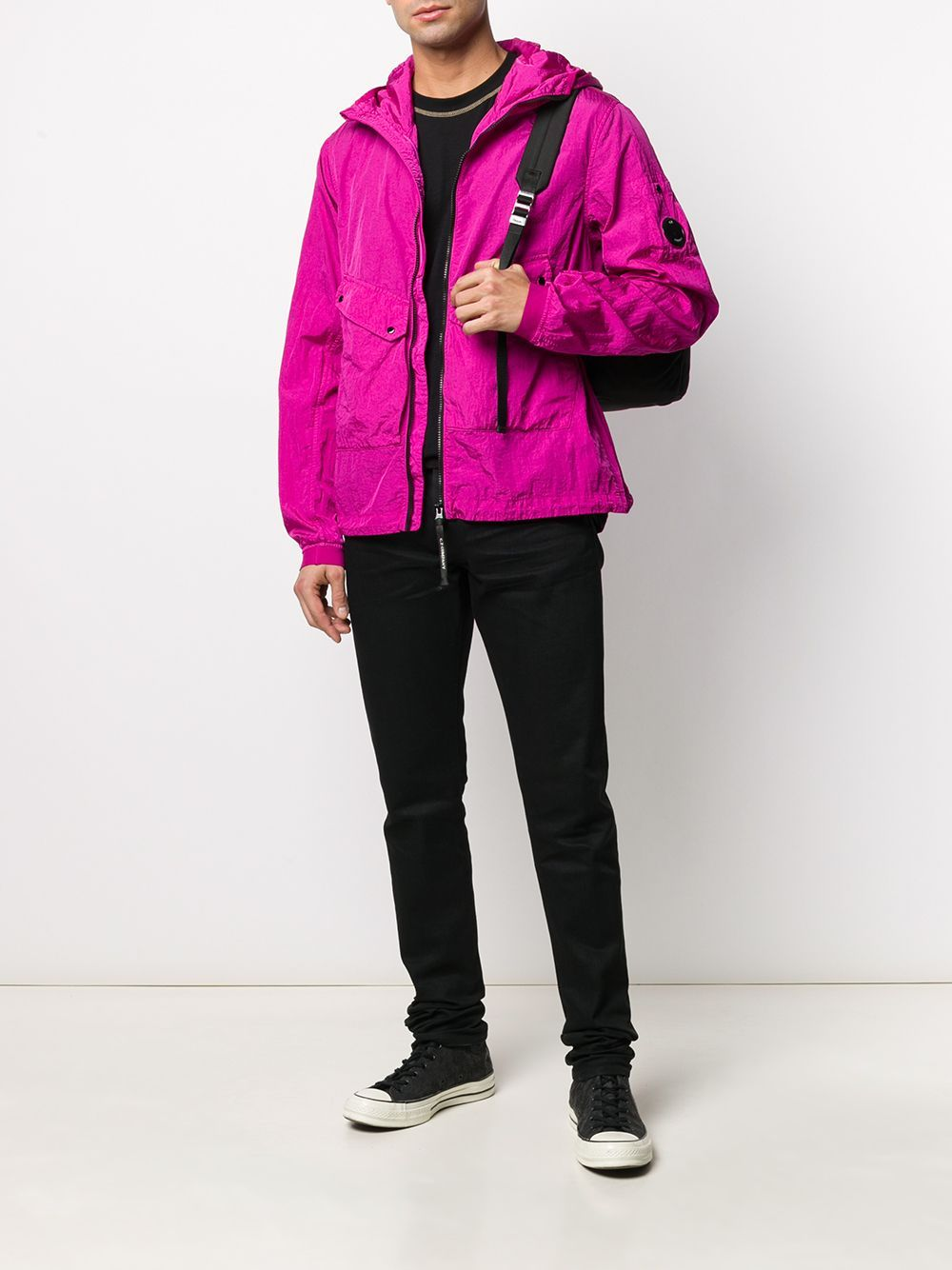 C.P. COMPANY lightweight shell jacket pink