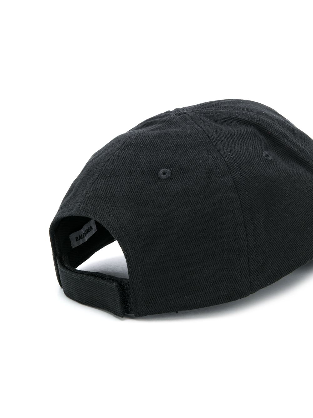 BALENCIAGA Uniform Cap Black/Red
