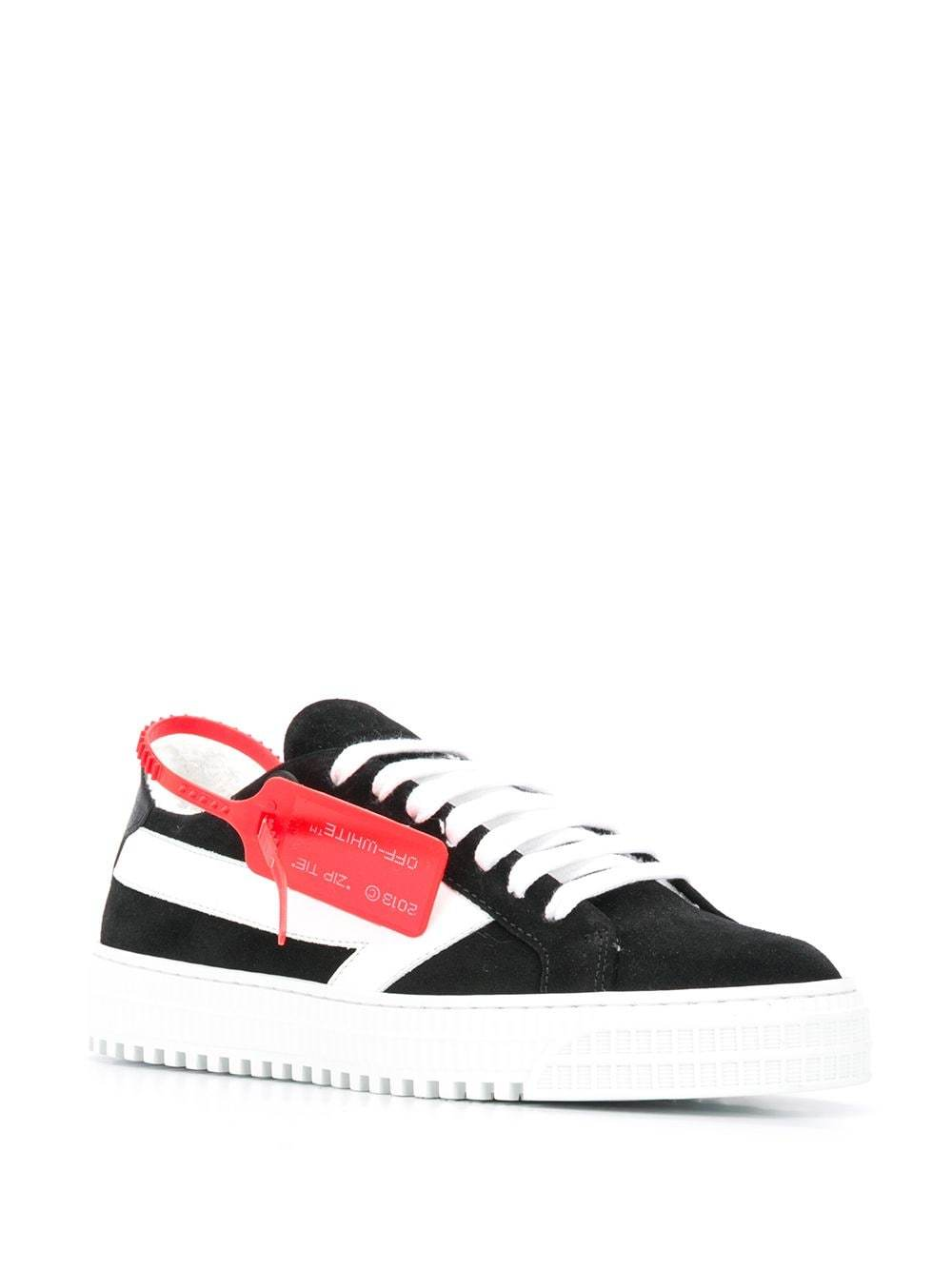 OFF-WHITE women arrow sneakers black/white