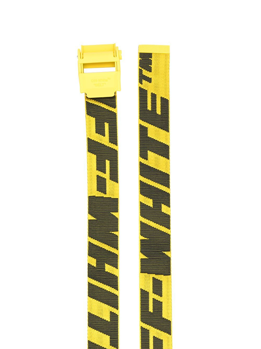 OFF-WHITE 2.0 industrial belt yellow/black - Maison De Fashion