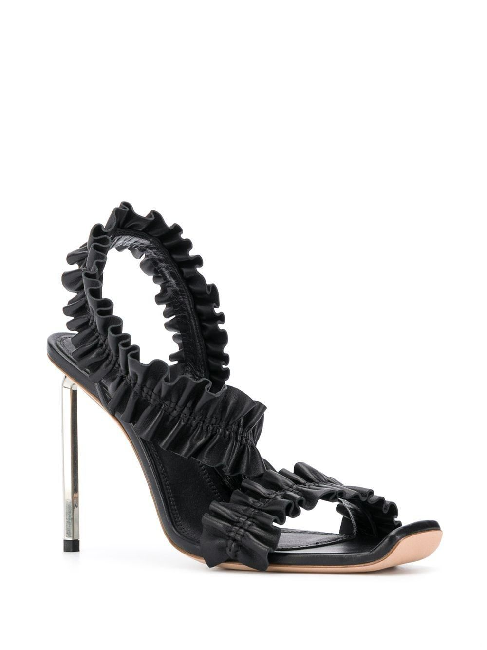 OFF-WHITE Nappa Sandal Black - Maison De Fashion