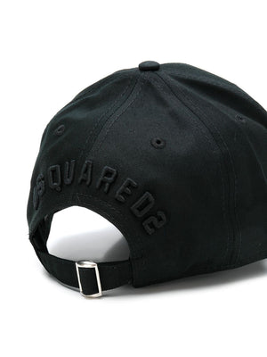 DSQUARED2 embroidered icon baseball cap black - Maison De Fashion
