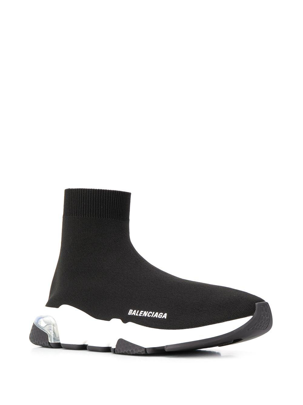 BALENCIAGA speed LT sneakers black/white