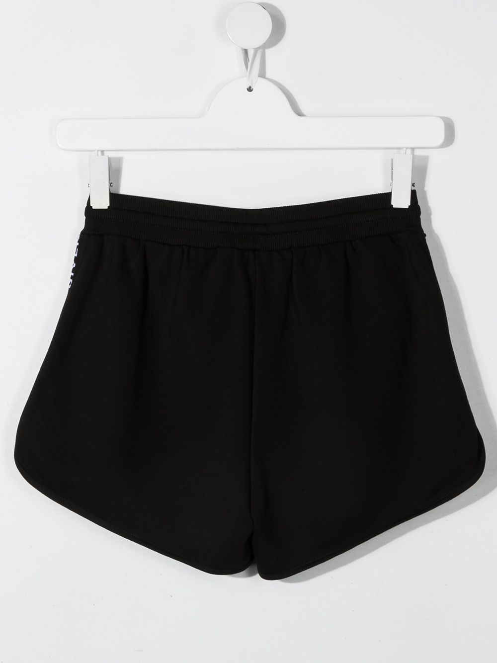 GIVENCHY KIDS Logo band track shorts Black
