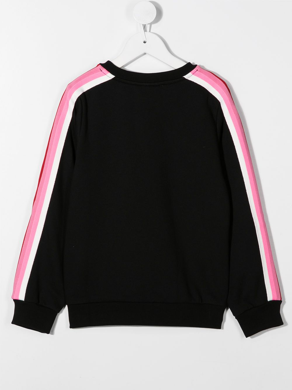 FENDI KIDS Raised-Logo Sweatshirt Black