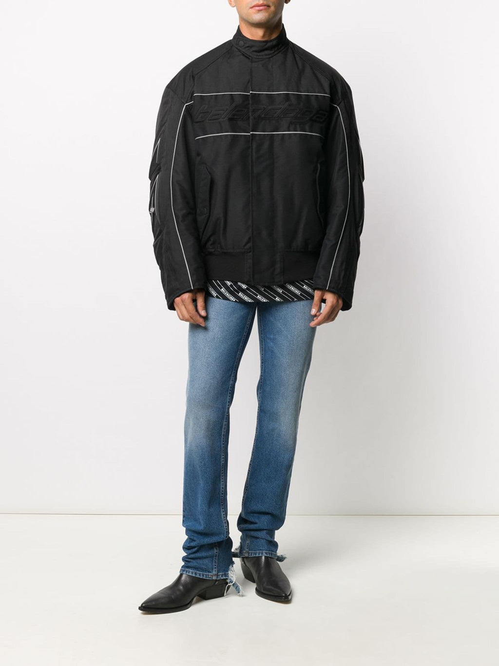 BALENCIAGA Racing Jacket Black - Maison De Fashion
