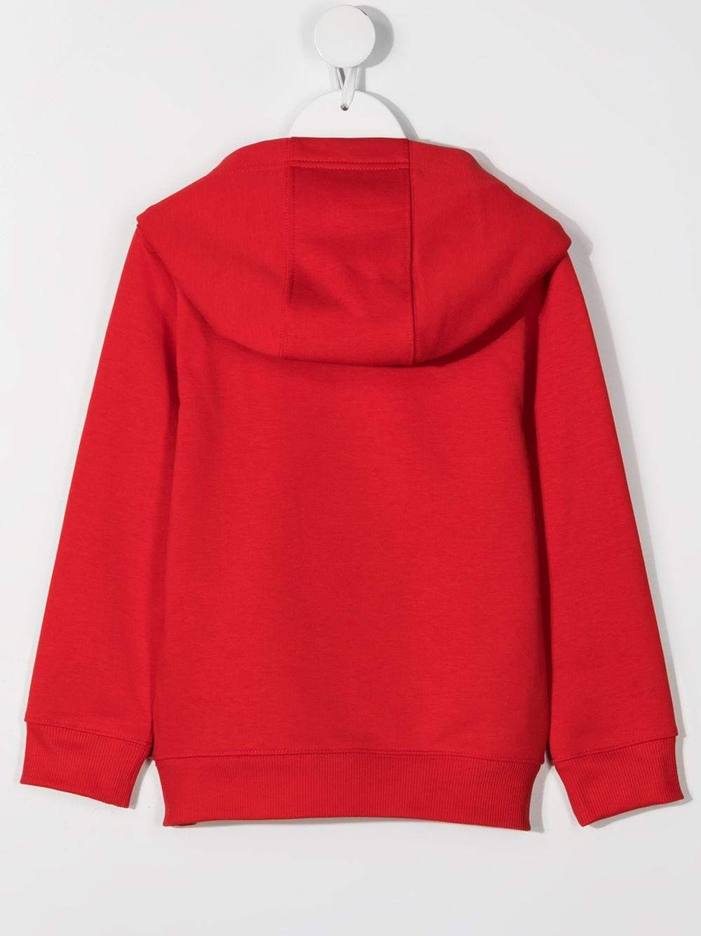 GIVENCHY KIDS Logo-print long-sleeve hoodie Red