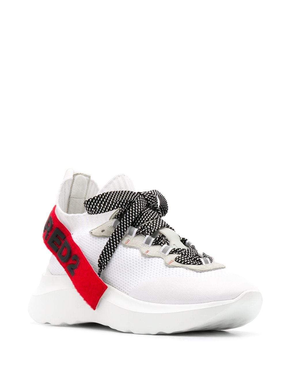 DSQUARED2 Speedster Sneakers White/Red