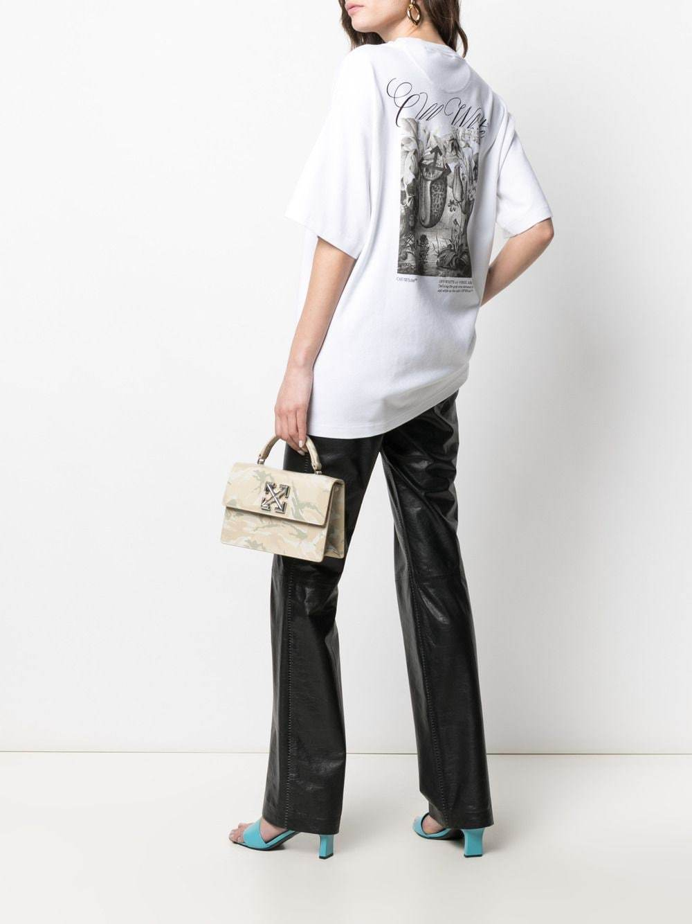OFF-WHITE WOMEN Botanical Tomboy T-Shirt White