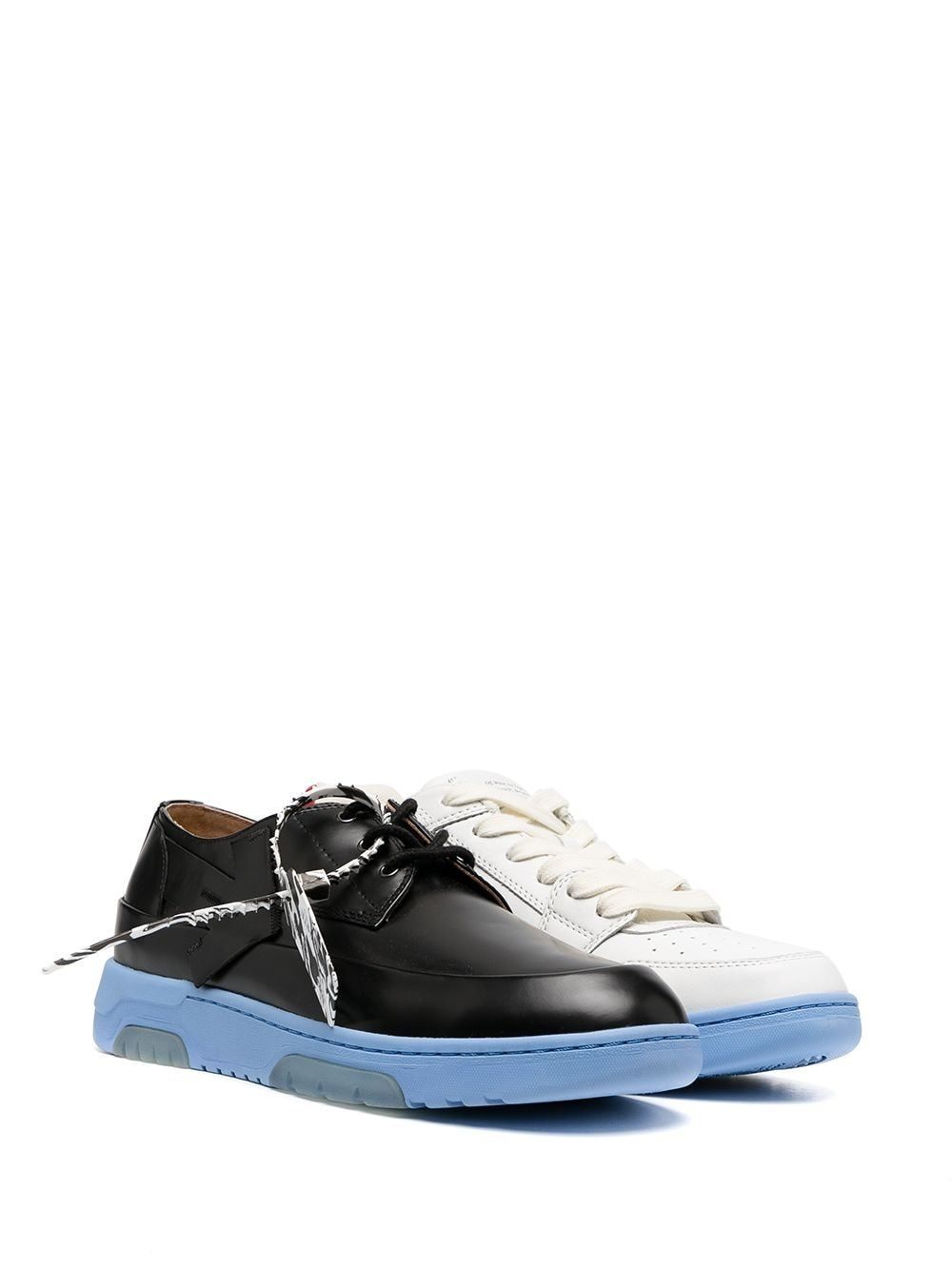 OFF-WHITE Half and Half Sneakers Black/Violet