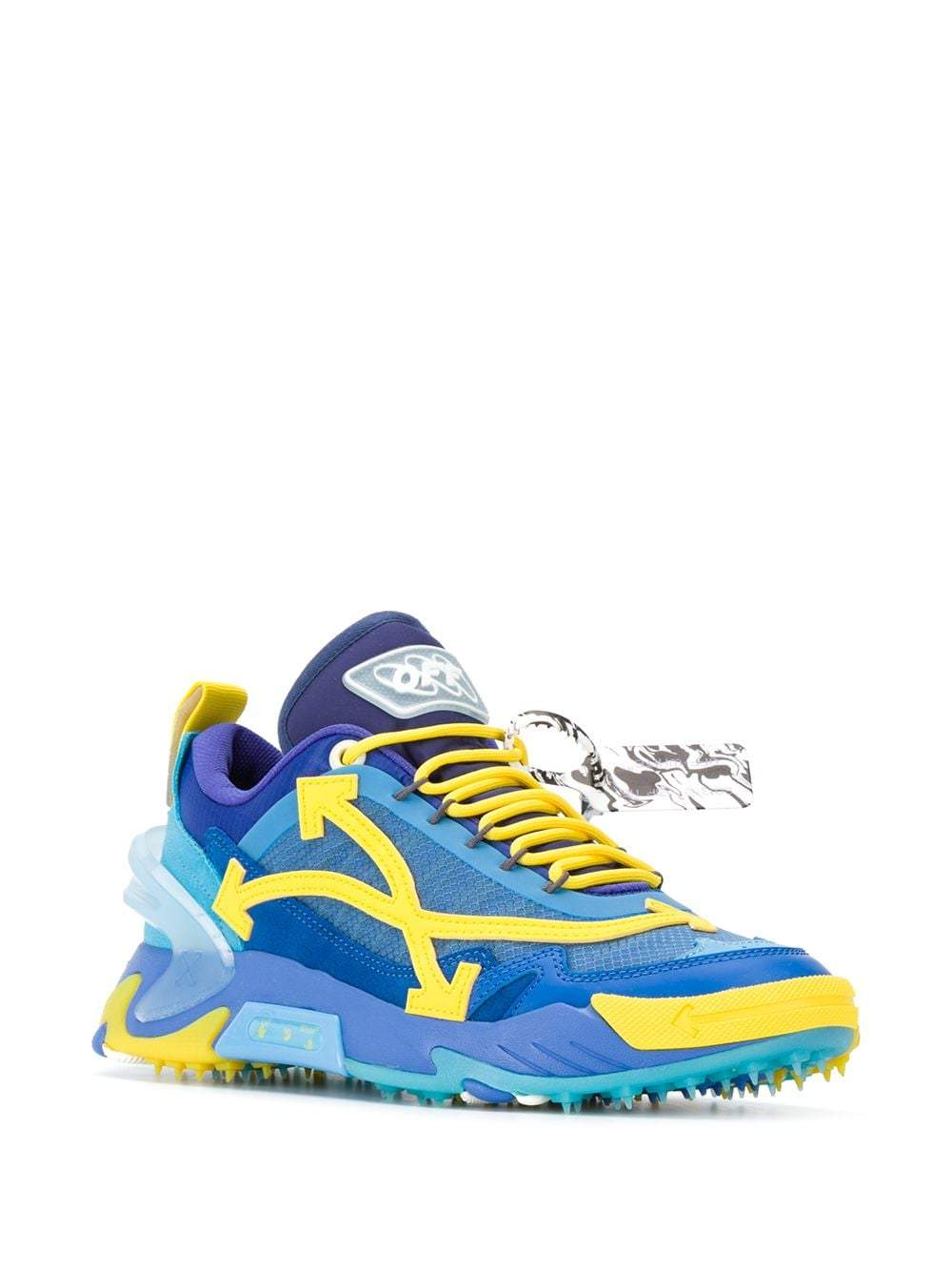 OFF-WHITE ODSY-2000 Sneakers Blue/Yellow