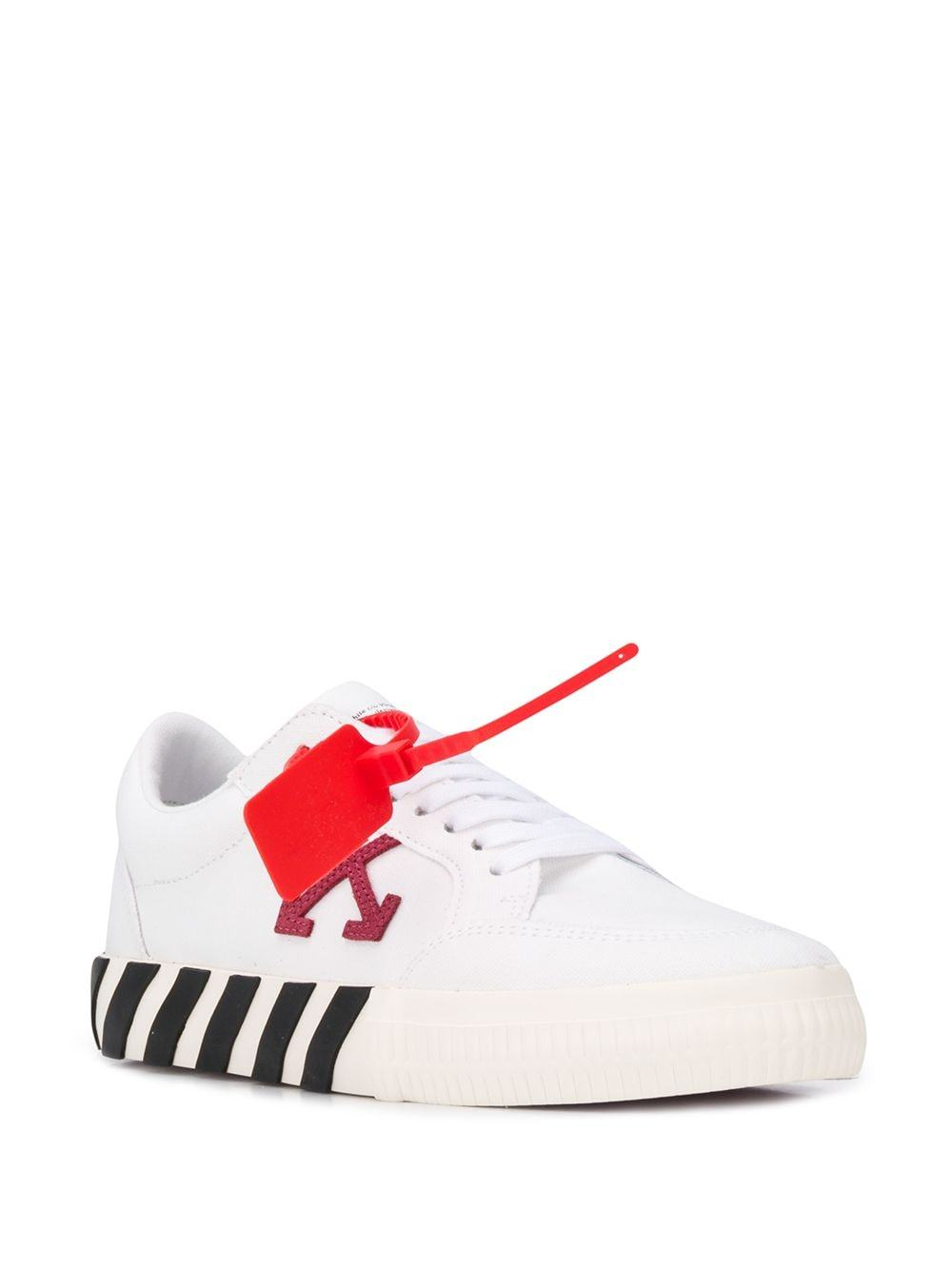 OFF-WHITE low vulcanized white/violet