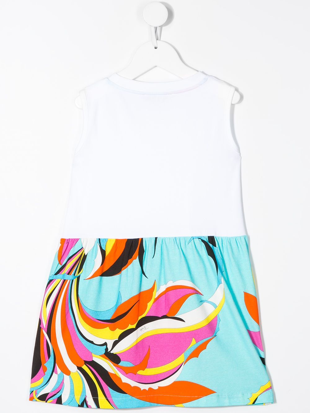 EMILIO PUCCI KIDS swirl-print dress white - Maison De Fashion
