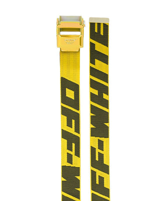 Off-White 2.0 industrial belt Yellow/Oil Slick