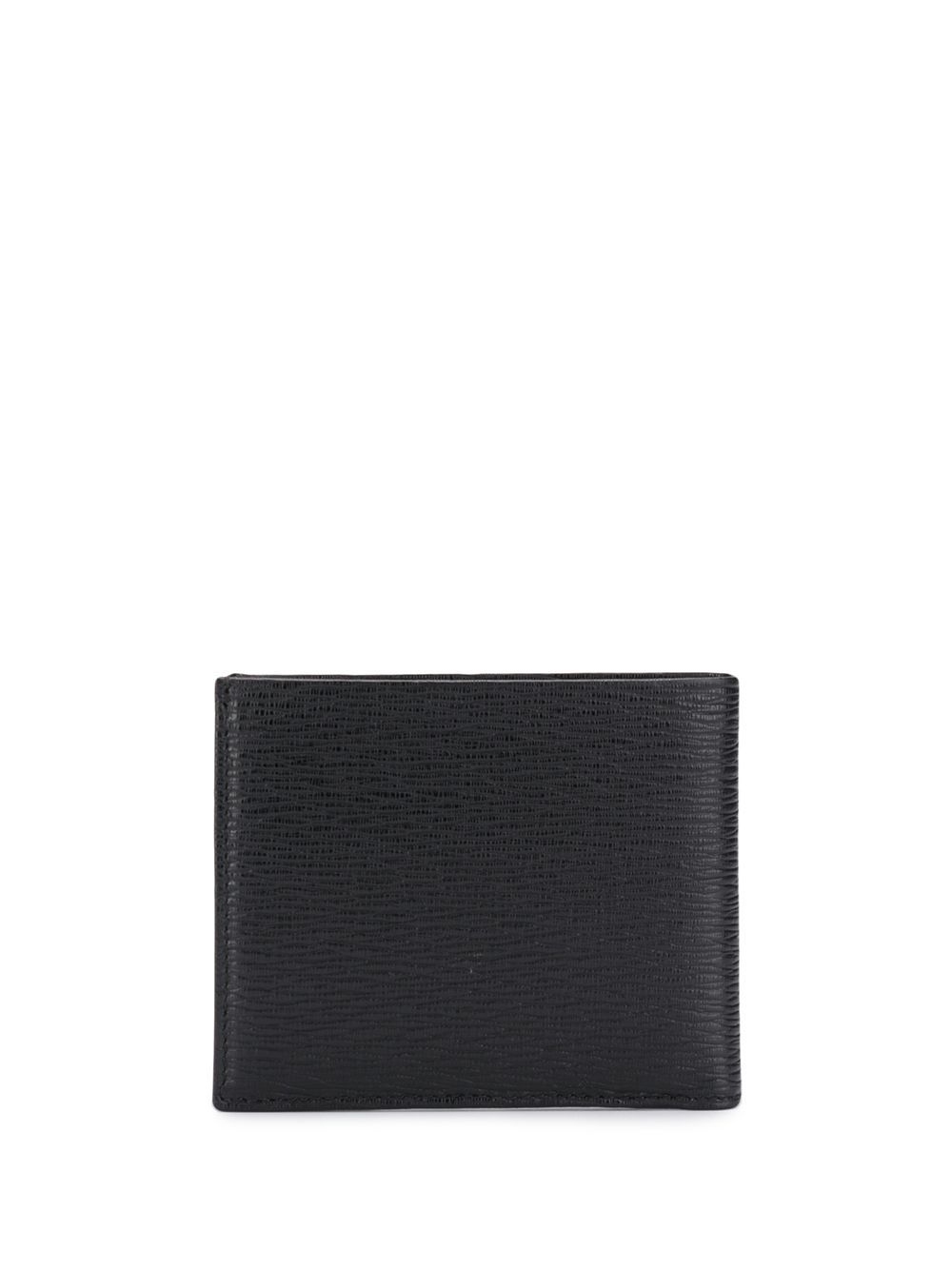 SALVATORE FERRAGAMO Gancini Logo Wallet With Coin Pocket Black