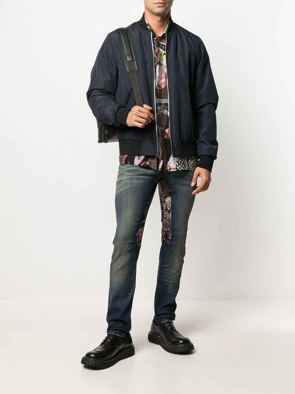 ALCHEMIST Skeleton Avery Jeans