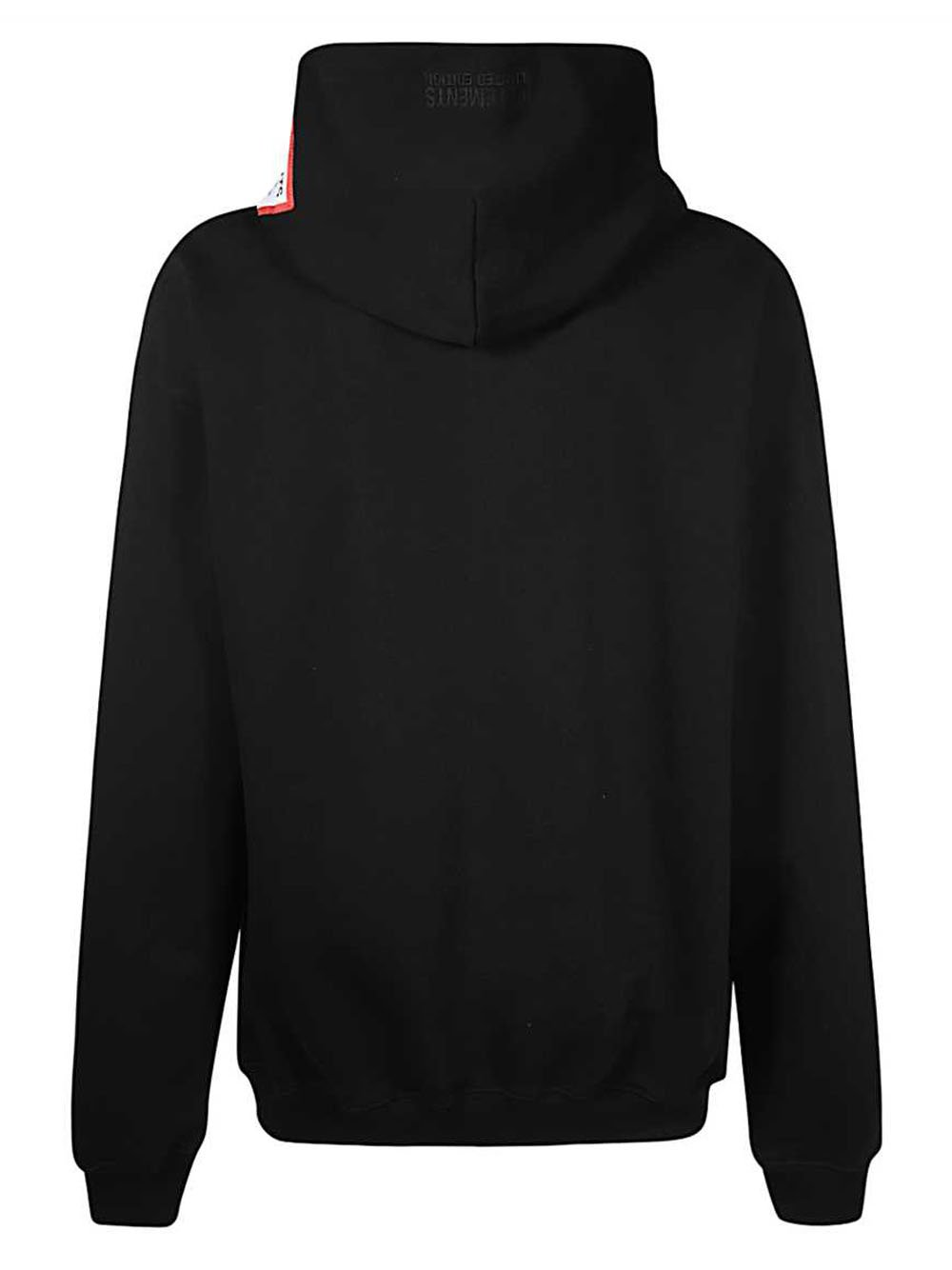 VETEMENTS Logo Patch Hoodie Black - Maison De Fashion