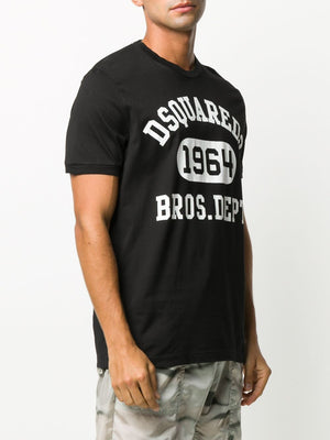 DSQUARED2 1964 Logo T-Shirt Black