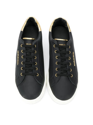 DOLCE & GABBANA KIDS lace-up sneakers - Maison De Fashion