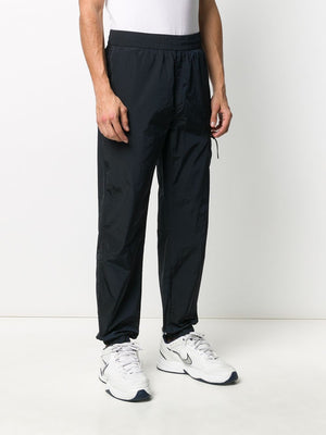 C.P. COMPANY high-waisted track trousers navy