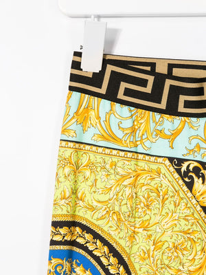 VERSACE KIDS elasticated baroque print sweatpants - Maison De Fashion