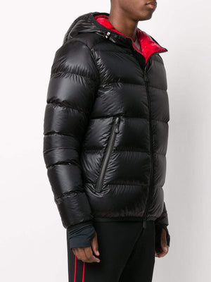 Moncler Grenoble hintertux puffer jacket black - Maison De Fashion