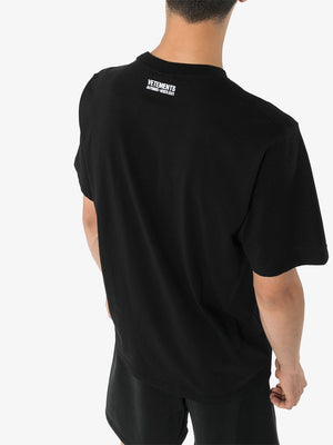 VETEMENTS Antwerp T-Shirt Black