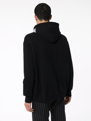 VETEMENTS logo hoodie black - Maison De Fashion