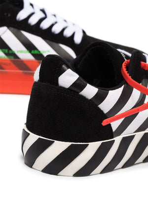 OFF-WHITE women arrow vulcanized low-top sneakers - Maison De Fashion