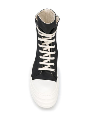 Rick Owens DRKSHDW High Top lace-up Sneakers